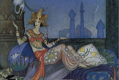 Scheherazade Went on with Her Story.